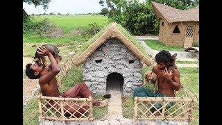 Build stone Wild dogs House