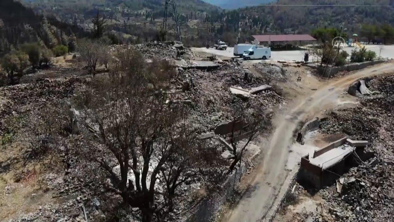 Οι συνέπειες των δασικών πυρκαγιών στην Αττάλεια