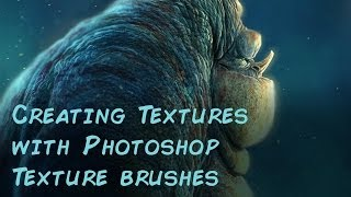 Aarons Art Tips Season2 E13 - Creating Textures With Photoshop Texture Brushes.