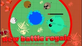 NEW mope.io Battle Royale mode//my first win //funny moments!//i got black panther again...