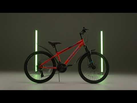 """Велосипед подростковый 24"""" RX415 DISC ST 21ск RUSH HOUR"""