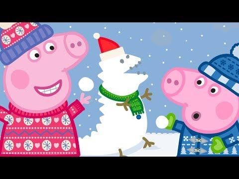 Peppa Wutz ❄️ Frohe Weihnachten: Schnee! ❄️ Peppa Pig Deutsch Neue Folgen | Cartoons für Kinder