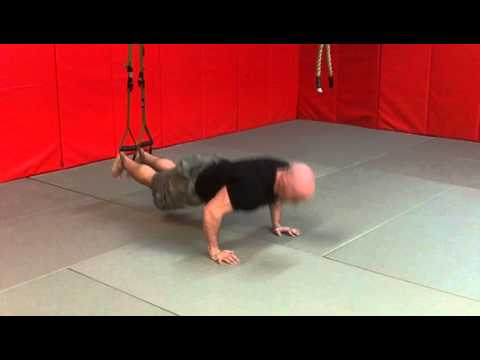 TRX PushUp FeetElevated