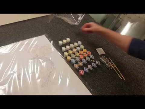 Gleznošana pēc numuriem, komplekts, S010 cena un informācija | Gleznas pēc numuriem | 220.lv