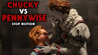 Chucky Vs Pennywise Stop Motion