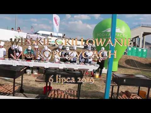 Wielkie grillowanie VIP-ów na Pikniku Wolności i Solidarności w Ropczycach