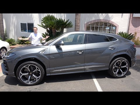 Here's a Tour of the 2019 Lamborghini Urus SUV