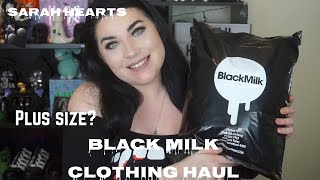 PLUS SIZE BLACK MILK CLOTHING HAUL-  NIGHTMARE BEFORE CHRISTMAS