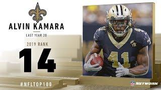 #14: Alvin Kamara (RB, Saints)   Top 100 Players of 2019   NFL