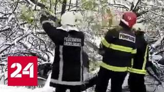 Режим ЧП: Молдавию парализовал снежный циклон