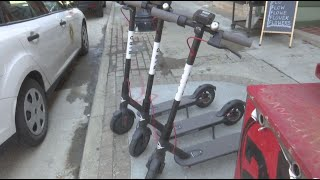 Bird scooters take flight in Columbus