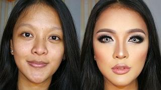 Transforming 3D Contour Makeup Tutorial for Indonesian | Kholo.pk