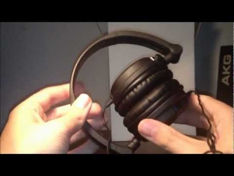 AKG K518 DJ - Unboxing and Review