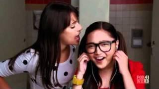 """Glee S02E01 Charice & Lea Michele """"Telephone"""""""