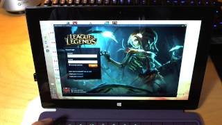 Surface Pro 2 Gaming Performance Analysis, League of Legends, War Thunder, Civ V, Team Fortress