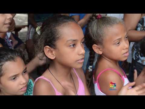 Ação social do Instituto Vida Feliz no dia das Crianças em Belágua-MA