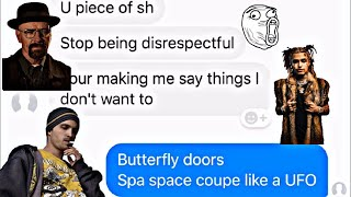 "LIL PUMP ""Butterfly Doors"" LYRIC PRANK ON DAD! (He Blocked  Me)"