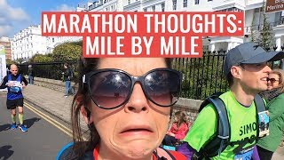 Thoughts Of A Marathon Runner Mile By Mile | Brighton Marathon 2019