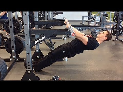 45-Degree Inverted Row