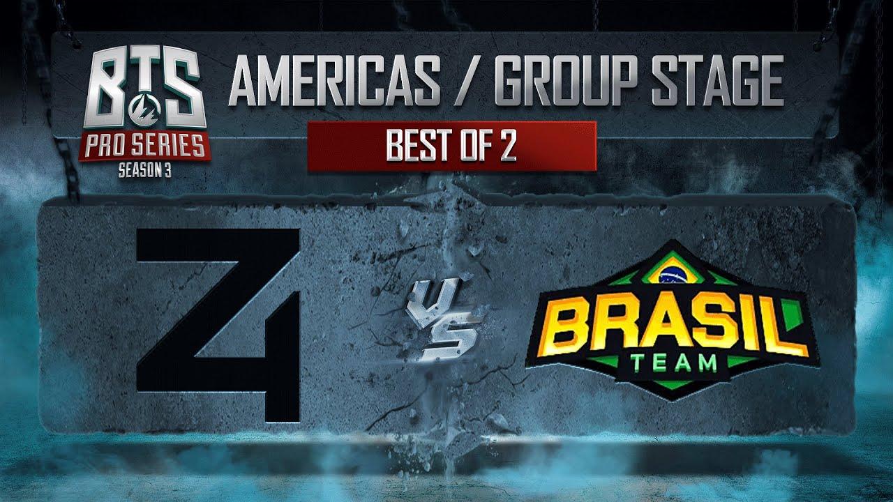 4 Zoomers vs Brazil - BTS Pro Series Season 3  - Dota 2