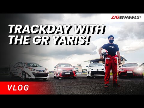 Trackday with the GR Yaris