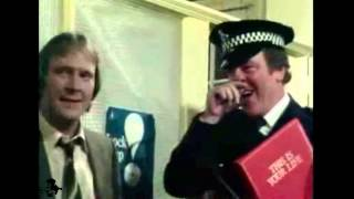 Dennis Waterman and John Thaw on This is your life  snippet 05-04-1978