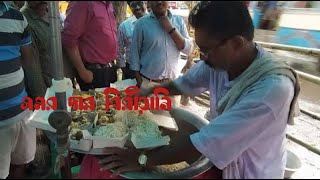 200plate biryani finish Kolkata Street food biryani king Samar Da Biryani Street Food Love - Indian