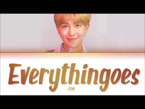 RM (BTS) - Everythingoes (지나가) (with NELL) (Lyrics Eng/Rom/Han/가사)