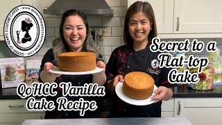 vanilla sponge cake with buttercream recipe