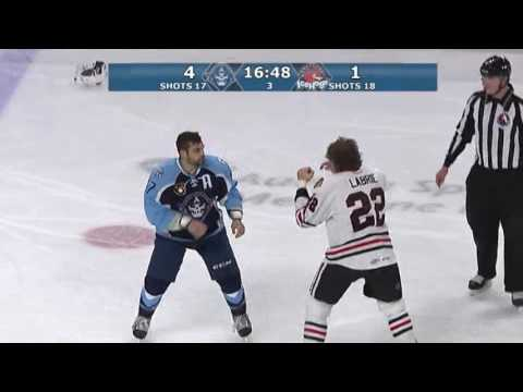 Pierre-Cedric Labrie vs Mike Liambas