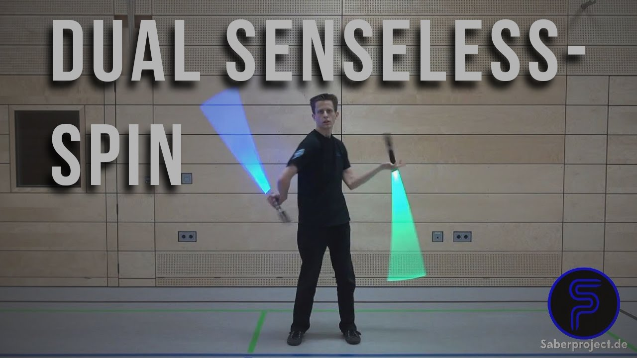 Lichtschwert-Trick: Doppelter Sinnloswirbel