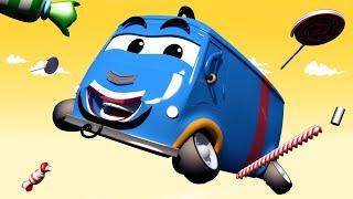 Autogaráž pro děti - Z Karlita je Aladinův džin - Tomova Autolakovna ve Městě Aut