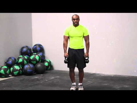 Kettlebell One Arm Bicep Curl