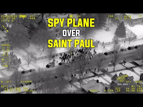 MN State Patrol Spy Plane Footage of Protest Released for First Time [EXCLUSIVE]