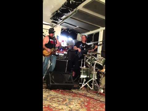 """Mudflap in the garage with """"Whiskey Talkin"""""""