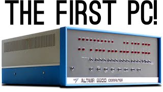 The PC that started Microsoft & Apple! (Altair 8800)