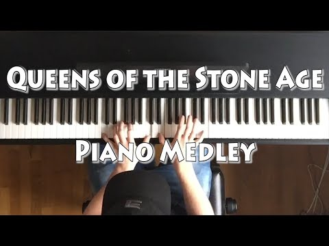 Queens of the Stone Age Piano Medley
