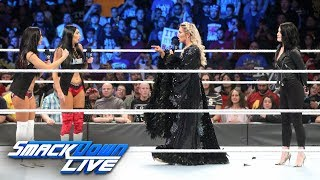 After getting fined for her actions at Survivor Series, The Queen says she'll be ready for her next encounter with Ronda Rousey, but The IIconics soon interrupt her.  #SDLive  GET YOUR 1st MONTH of WWE NETWORK for FREE: http://wwenetwork.com --------------------------------------------------------------------- Follow WWE on YouTube for more exciting action! --------------------------------------------------------------------- Subscribe to WWE on YouTube: http://bit.ly/1i64OdT Check out WWE.com for news and updates: http://goo.gl/akf0J4 Find the latest Superstar gear at WWEShop: http://shop.wwe.com --------------------------------------------- Check out our other channels! --------------------------------------------- The Bella Twins: https://www.youtube.com/thebellatwins UpUpDownDown: https://www.youtube.com/upupdowndown WWEMusic: https://www.youtube.com/wwemusic Total Divas: https://www.youtube.com/wwetotaldivas ------------------------------------ WWE on Social Media ------------------------------------ Twitter: https://twitter.com/wwe Facebook: https://www.facebook.com/wwe Instagram: https://www.instagram.com/wwe/ Reddit: https://www.reddit.com/user/RealWWE Giphy: https://giphy.com/wwe