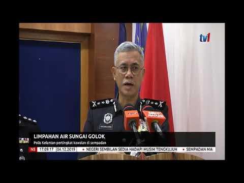 4 DIS 2019 N5- LIMPAHAN AIR SUNGAI GOLOK-POLIS KELANTAN PERTINGKAT KAWALAN DI SEMPADAN