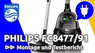 TEST: Philips PowerPro Compact FC8477/91 - Beutelloser-Staubsauger im ausführlichen Test