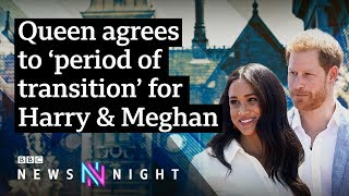 Can Prince Harry and Meghan really become 'financially independent'? - BBC Newsnight