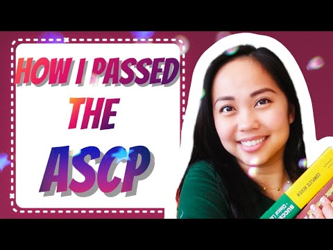 5 Tips on How to Pass the ASCP! (MLS) - YouTube