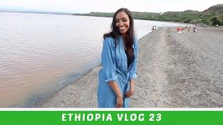 Ethiopia Vlog 23 South Ethiopia Swimming in Langano | Amena