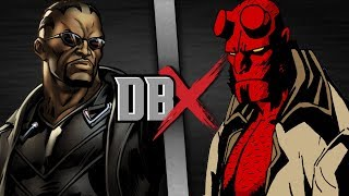 Blade vs Hellboy