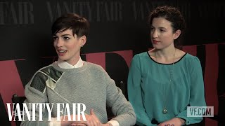 "Anne Hathaway and Kate Barker-Froyland on ""Song One"""