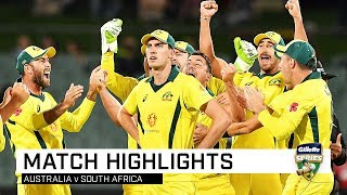 Australia v South Africa, second ODI
