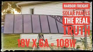 Harbor Freight 100 watt solar kit - The Real Truth