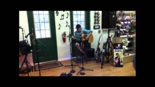 """Matthew @ Strum Hollow Music Grand Opening -""""Steamroller Blues"""""""