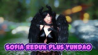 Elder Scrolls V  Skyrim Sofia Redux and yundao HDT hair