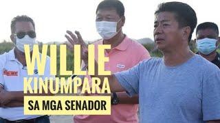 Willie tumulong na nagpanalo pa | Kinumpara sa isang Senador